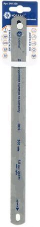 Полотна ножовочные КОБАЛЬТ 248-320; по металлу, 300 мм, двухсторонние, шаг 1.0 мм/24TPI, HCS (2 шт) цена