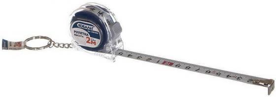 Рулетка КОБАЛЬТ 248-900 Высота 2м x 13мм, мех.стопор, 2-сторонняя шкала, толщ. 0,11 мм