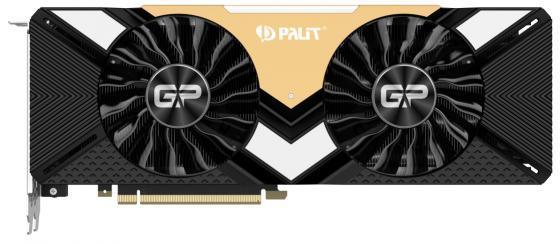 Видеокарта Palit nVidia GeForce RTX 2080 Ti GamingPro OC PCI-E 11264Mb GDDR6 352 Bit Retail NE6208TS20LC-150A видеокарта palit geforce rtx 2080 ti 11264mb gamingpro 11g ne6208ts20lc 150a 1xhdmi 3xdp 1xusb c and virtual link ret