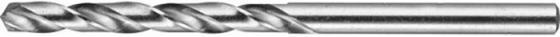 купить Сверло по металлу ЗУБР 4-29625-080-4.5 ЭКСПЕРТ стальP6M5 классА1 4.5х80мм по цене 55 рублей