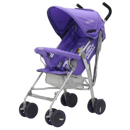 Коляска детская SAFARI purple/фиолетовый (уп.4шт) коляска anex anex коляска 3 в 1 cross safari