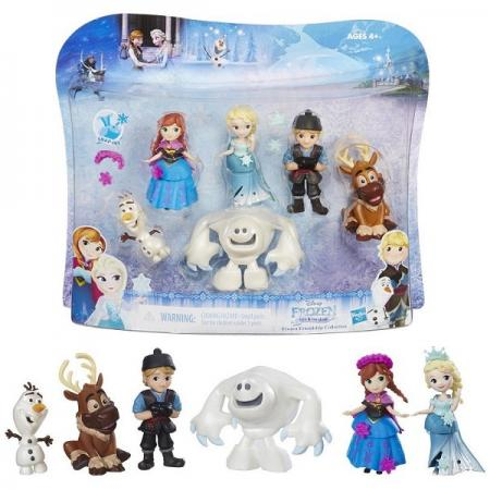 Игровой набор Disney Princess маленьких кукол ХОЛОДНОЕ СЕРДЦЕ для коллекционеров игровой набор hasbro мини кукол mlp equestria girls пижамная вечеринка