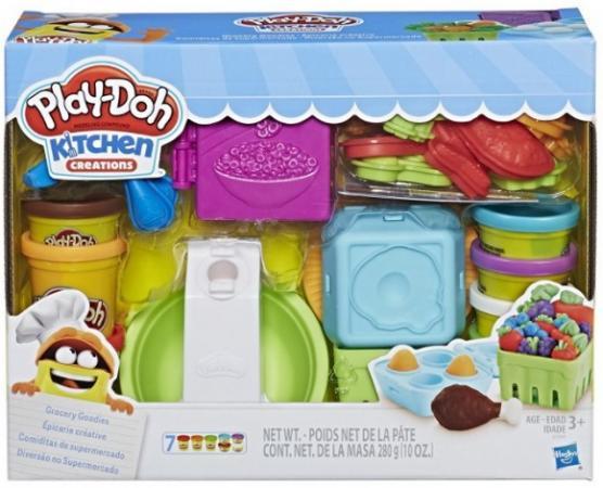 "цена на Игровой набор Hasbro Play - Doh Плей-До ""Готовим обед"""