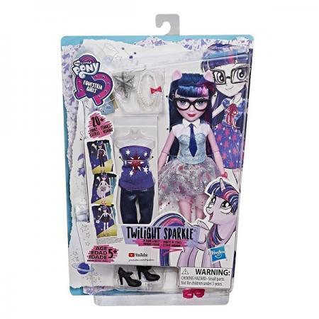 Игрушка Hasbro MLP Equestria Girls Кукла ДЕВОЧКИ ЭКВЕСТРИИ Уникальный наряд игрушка mlp equestria girls кукла интерактивная