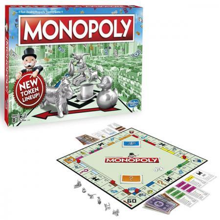 Настольная игра семейная HASBRO Монополия hasbro настольная игры hasbro games монополия геймер