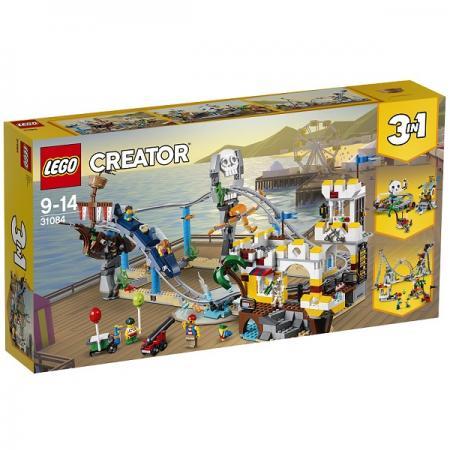 горки Конструктор LEGO Аттракцион Пиратские горки 31084