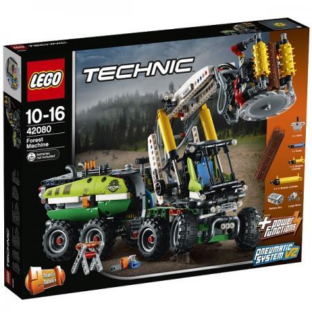 Конструктор LEGO Лесозаготовительная машина 1003 элемента конструктор lego ветеринарная машина для лошадок 41125
