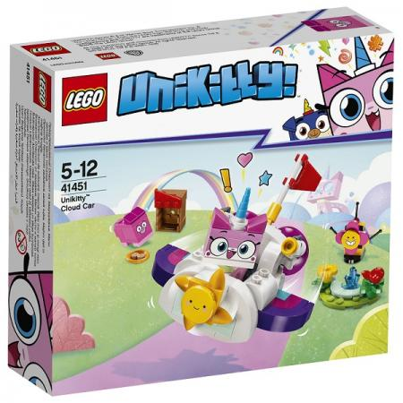 Конструктор LEGO Машина-облако Юникитти 126 элементов конструктор lego ветеринарная машина для лошадок 41125