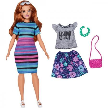 Barbie® Barbie Игра с модой Куклы & набор одежды (FJF67) пенал barbie