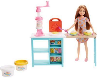 цены на Кукла Barbie (Mattel) Завтрак со Стейси 14 см  в интернет-магазинах