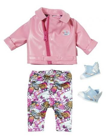 Одежда для кукол Zapf Creation Одежда для скутериста мужская одежда