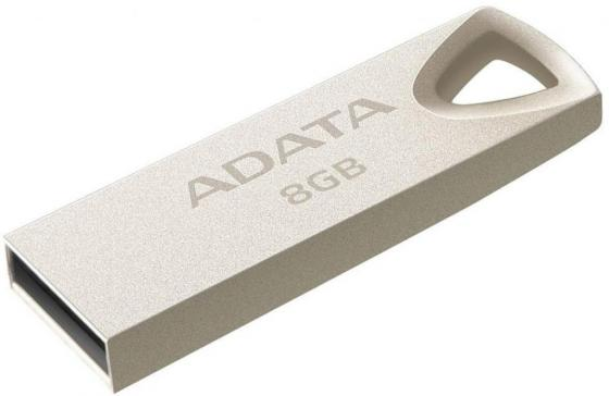 USB флешка A-Data UV210 8GB USB Gold (AUV210-8G-RGD) USB 2.0 zp 8gb флешка диск usb usb 2 0 пластик zp17101