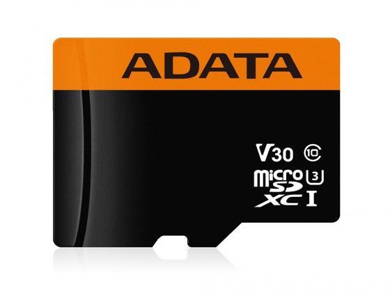 Карта памяти 64GB ADATA Premier Pro microSDXC UHS-I U3 Class 10(V30G) 95 / 90 (MB/s) цена 2017