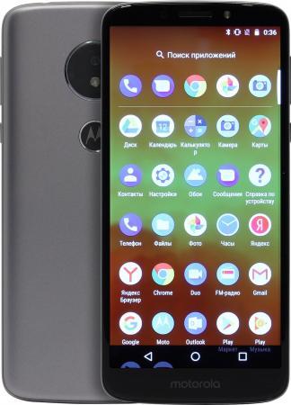 цена на Смартфон Motorola Moto E5 серый 5.7 16 Гб LTE Wi-Fi GPS 3G Bluetooth 4G
