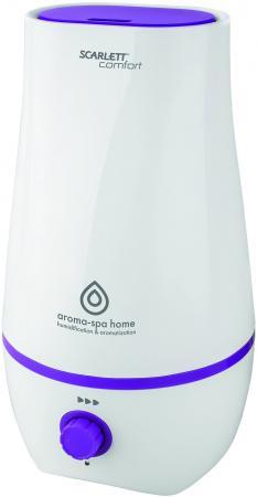 цена на Увлажнитель воздуха Scarlett SC - AH986M14 белый фиолетовый