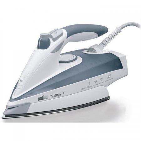 Купить Утюг Braun TS775ETP 2400Вт серый/белый