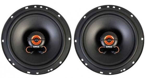Колонки автомобильные Edge ED622B-E7 60Вт 91дБ 4Ом 16см (6дюйм) (ком.:2кол.) коаксиальные двухполосные колонки автомобильные kicx pd 502 60вт 13см двухполосные