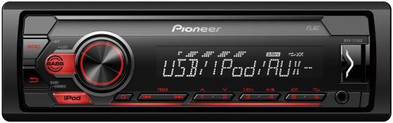 Автомагнитола Pioneer MVH-S110UI 1DIN 4x50Вт автомагнитола cd pioneer deh x8700bt 1din