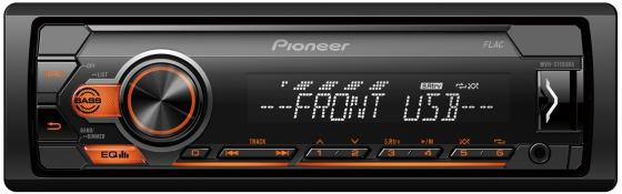 Автомагнитола Pioneer MVH-S110UBA 1DIN 4x50Вт автомагнитола pioneer mvh s110uba 1din 4x50вт