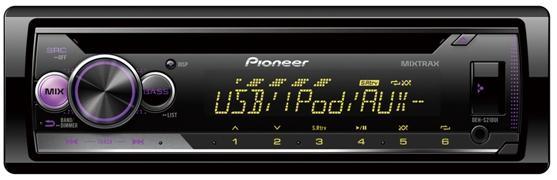 Автомагнитола CD Pioneer DEH-S210UI 1DIN 4x50Вт автомагнитола cd pioneer deh 9450ub 1din