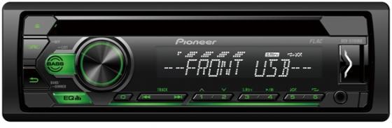 Автомагнитола CD Pioneer DEH-S110UBG 1DIN 4x50Вт автомагнитола cd pioneer deh 9450ub 1din