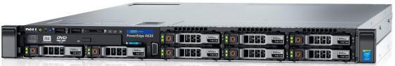 Сервер Dell PowerEdge R630 1xE5-2620v4 x8 2.5 RW H730 iD8En 2x750W 3Y PNBD X520 10Gb SFP+i350/LPe12002 2SDx16G no besel (210-ACXS-276) адаптер dell 540 bbbb intel x520 dp 10gb da sfp i350 dp 1gb network daughter