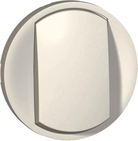 Legrand 065004 Лицевая панель - Программа Celiane - выключатель/переключатель Кат. № 0 670 01/02/31/32 с контурной подсветкой - белый