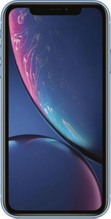 "Смартфон Apple iPhone XR синий 6.1"" 128 Гб NFC LTE Wi-Fi GPS 3G MRYH2RU/A недорого"