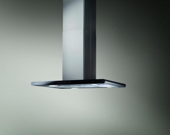 Вытяжка каминная Elica GALAXY ISLAND BLIX/A/90X45 LED черный/нержавеющая сталь фото