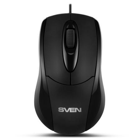 все цены на Мышь SVEN RX-110 PS/2 чёрная