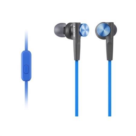 все цены на Наушники Sony/ внутриканальные 4-24000Гц 1,2м 3.5мм 106дБ микрофон, чехол, сменные амбушюры, синие онлайн