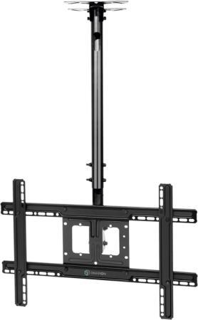 Фото - Кронштейн ONKRON N1L потолочный 32-70 макс 400х600 высота 717-1584мм наклон -5°/+15° поворот: 60° Макс нагрузка: 68,2кг кронштейн
