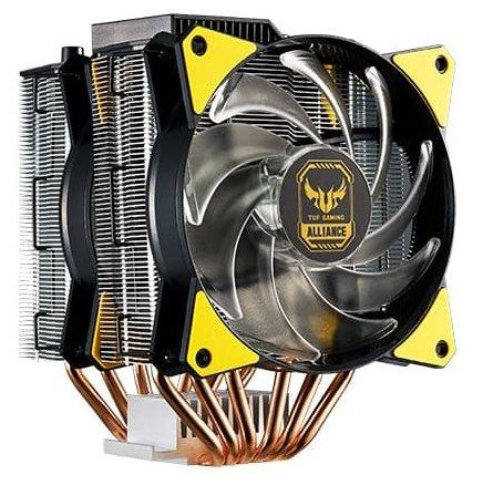 Cooler Master CPU Cooler MasterAir MA620P, 600-2400 RPM, 200W, RGB LED fan, RGB lighting controller, Full Socket Support, Asus TUF Version new original cpu cooling radiator for asus ux21e dc brushless laptop notebook cooler radiators cooling fan