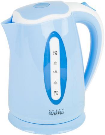 Чайник DELTA DL-1269 синий dl 30подсвечник giada delta