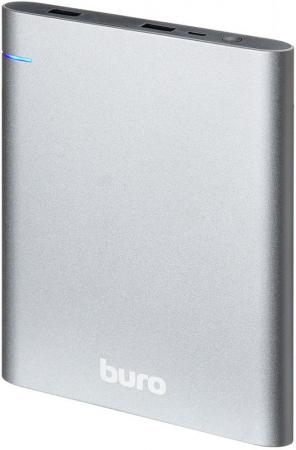 Внешний аккумулятор Power Bank 21000 мАч BURO RCL-21000 темно-серый внешний аккумулятор samsung eb pg930bbrgru 5100mah черный
