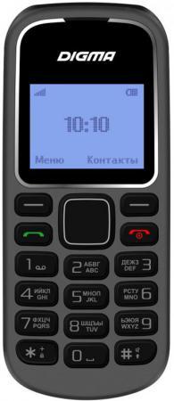 Мобильный телефон Digma Linx A105 2G 32Mb серый моноблок 1.44 98x68 GSM900/1800 телефон