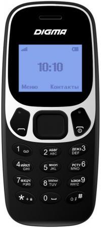 Мобильный телефон Digma Linx A105N 2G 32Mb черный моноблок 1.44 68x96 GSM900/1800