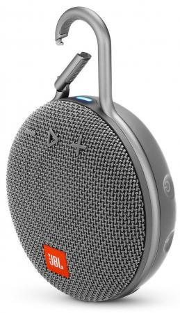 Колонка порт. JBL Clip 3 серый 3.3W 1.0 BT (JBLCLIP3GRY) geo c marshall interviews
