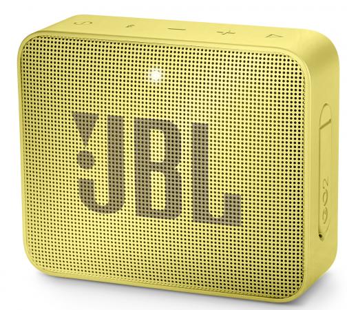 лучшая цена Колонка порт. JBL GO 2 желтый 3W 1.0 BT/3.5Jack 730mAh (JBLGO2YEL)