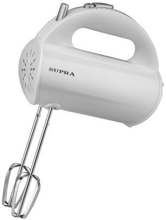 Миксер ручной Supra MXS-522 500Вт белый supra mxs 521