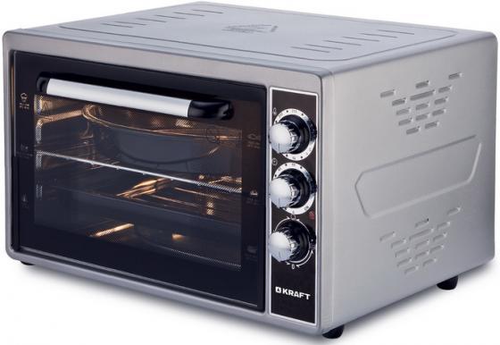 Мини-печь Kraft Kraft KF-MO 3801 GR серый мини печь кумтел kf 3100