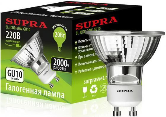 Лампа галогенная Supra SL-JCDR-20W-GU10 supra sl tl324