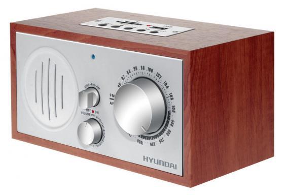 Радиоприемник настольный Hyundai H-SRS160 вишня USB SD/microSD hyundai h srs220 вишня