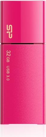 Флеш Диск Silicon Power 32Gb Blaze B05 SP032GBUF3B05V1H USB3.0 розовый
