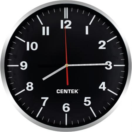 Часы настенные Centek СТ-7100 Black нера centek ст 2524