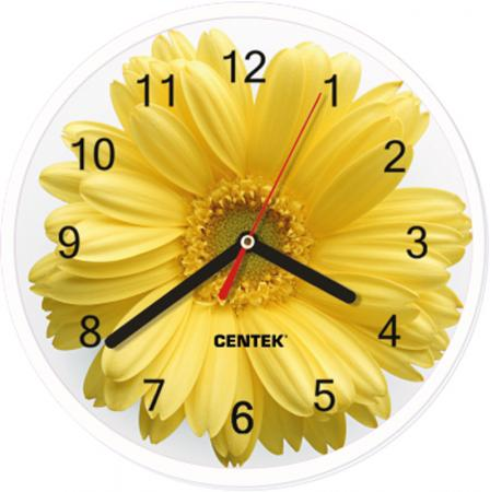Часы настенные Centek СТ-7102 Flower часы centek centek ст 7104 flower