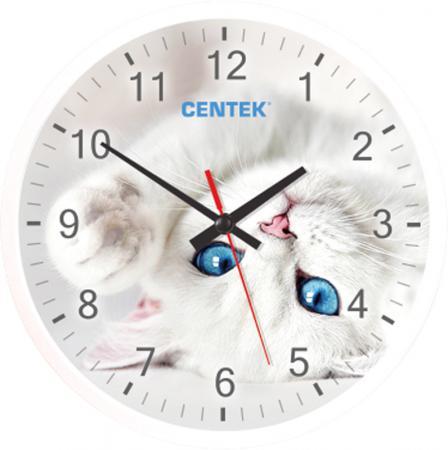 Часы настенные Centek СТ-7104 Cat часы centek centek ст 7104 flower