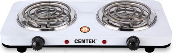 Электроплитка Centek CT-1509 белый электроплитка tristar kp 6245 белый