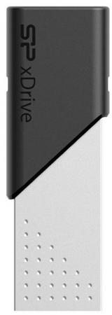 Фото - Флеш Диск Silicon Power 64Gb Jewel Z50 SP064GBLU3Z50V1S USB3.1 серебристый/черный флеш диск silicon power 16gb jewel j01 sp016gbuf3j01v1r usb3 1 серебристый красный