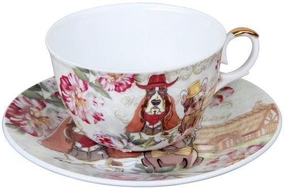 Чайный набор Rosenberg RCE-255003-Dog кружка заварочная rosenberg r 260028